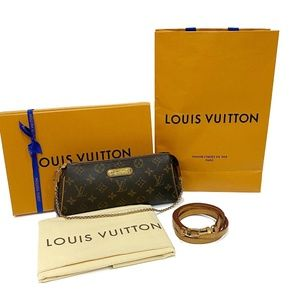 Authentic Louis Vuitton Eva Retired Monogram Bag
